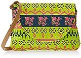 #6: Kanvas Katha Women's Sling Bag (Mint) (KKPUS001M)