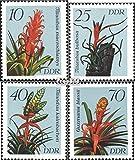 DDR 3149-3152 (kompl.Ausgabe) 1988 Bromelien (Briefmarken für Sammler)