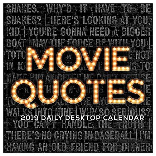 Movie Quotes 2019 Calendar