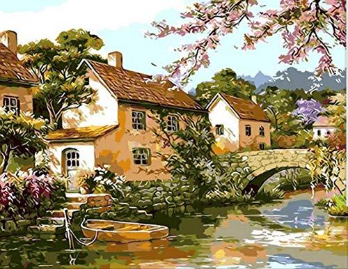 Foto Pintura Digital Diy Pintura Al Óleo Hogar Pintura...