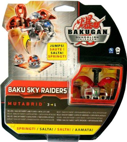 Bakugan Gundalian Invaders - Baku Sky Raiders MUTABRID (Pyrus / Red)