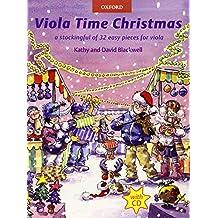 Viola Time Christmas + CD