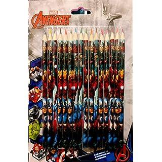 MARVEL Avengers 16 Coloured Pencils