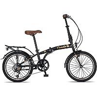 20 Zoll Camping Klapprad Klapp City Fahrrad Klappfahrrad Faltrad Rad Bike 6 Shimano Gang Beleuchtung STVO CUNDA MATT…