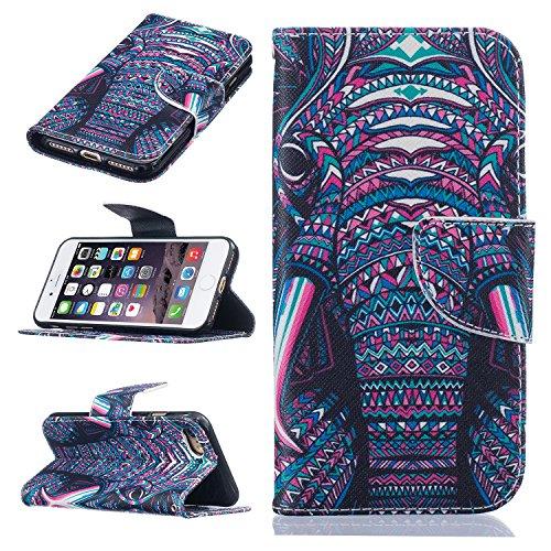 TIODIO® Housse en cuir Pour Apple iphone 7 / iphone 7G PU étui en cuir / case/ coque/ cover/ housse avec la fonction de stand+1 x Stylet+1 x film de protection d'écran, A20 A18