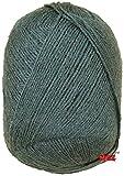 #9: Vardhman BigBoss Mouse Grey 200 gm Wool Ball Hand knitting wool / Art Craft soft fingering crochet hook yarn, needle Acrylic knitting yarn thread dyed