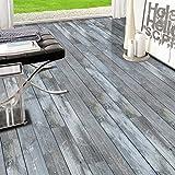 HyFanStr Dekor Holzmaserung selbstklebend Tapete Küche Fliesenaufkleber Regal Fußboden Dekorative 20cm x 500cm