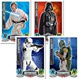 Force Attax - Carta coleccionable Star Wars, para 1 jugador (TOP90443) (importado)