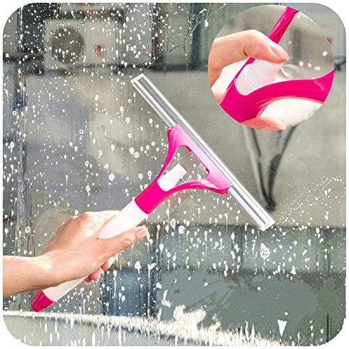 slemon vetro raschietto/per pulire l' auto specchio vetro Assemblea Dirty finestra bagno o la pulizia pavimento con rosa spray - Raschietto Assemblea