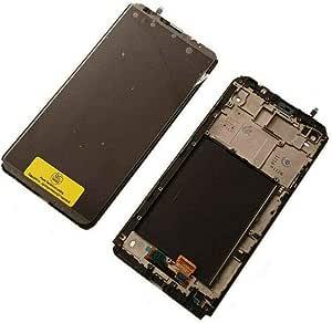 V20 LG H990 DS Display LCD Touchscreen Rahmen Original Neu Black