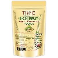 Complément alimentaire à base d'extrait de fruit Noni - 120 capsules - Pour booster votre système immunitaire et une…