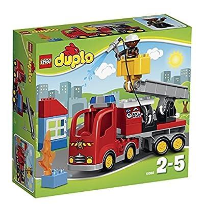 LEGO - 10592 - DUPLO - Jeu de Construction - Le Camion de Pompiers