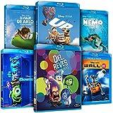 Pack Pixar Imprescindibles (El Viaje de Arlo + Inside Out (Del Revés) + Monstruos S.A. + Buscando A Nemo + Wal-E + UP)