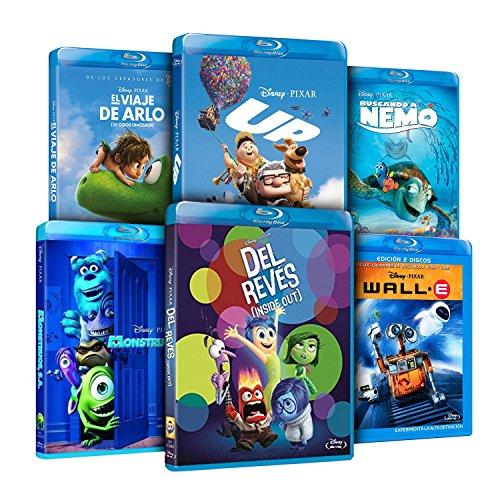 Pack Pixar Imprescindibles (El Viaje de Arlo + Inside Out (Del Revés) + Monstruos S.A. + Buscando A Nemo + Wal-E + UP… 7