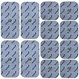 Druckknopf - Elektroden / Pads, 12 Stück Misch-Set (passend zu Sanitas SEM 40, Beurer EM 40/41/80)