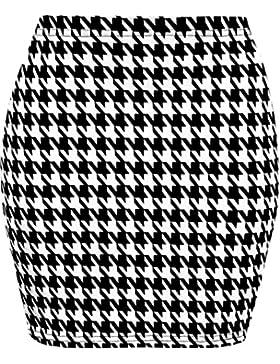 Minigonna da donna, elasticizzata, a fascia, taglie 40-46