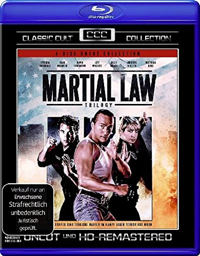 Martial Law - Trilogy - Uncut/Classic Cult Collection (4 BRs) [Blu-ray]