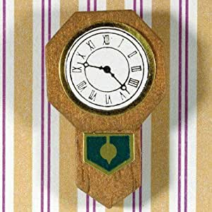 The Dolls House Emporium Wall Clock in Wood