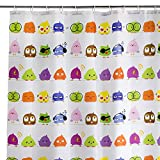 Cortina de Ducha Infantil Multicolor de poliéster para Cuarto de baño de 180x200 cm Child - LOLAhome
