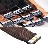 Tape In / On Echthaar Extensions Haarqualität: Virgin Remy - höchste...