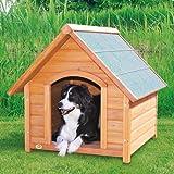 Hundehütte Komfort mit Satteldach - Größe M