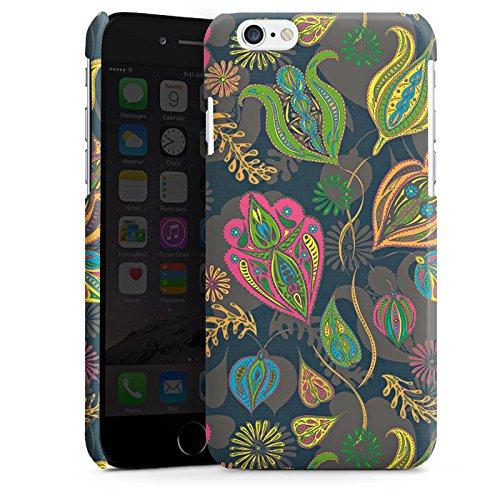 Apple iPhone SE Housse Outdoor Étui militaire Coque Fleurs Fleurs Motif Cas Premium brillant