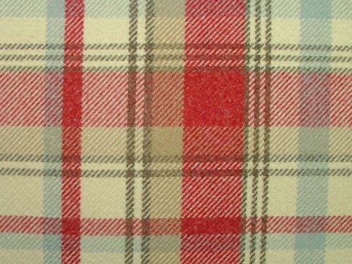 1m Elgin Tutti Frutti Effekt Wolle waschbar Stoff Tartan Plaid Dick & Vorhang Stoff (Stoff Wolle Waschbar)