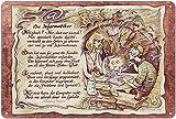 Geschenk Informatiker Blechschild 30 x 20 cm
