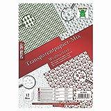 Transparentpapier, Mix Weihnachten, A4, 12 Stck. / 100 g/m², bunt