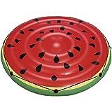 vidaXL Bestway Badeinsel Rot Luftmatratze Schwimminsel Pool Lounge Wassermelone