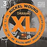 D\'addario Special XL Three Pack + Balanced Tension Set