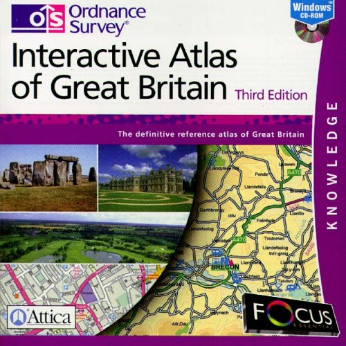 Ordnance Survey Atlas GB 3rd Edition Test