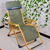 Deckchairs Duo Schwerelosigkeit Patio Lounge Chair Oversize XL Verstellbare Liege mit Kopfstütze Unterstützung 210kg (Farbe : 1005)