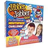 Jibber Jabber Party Game - The Hilarious Mouthpiece Game for Christmas Party Loud Mouth Board Game Challenge - UK Edition Version - Family Games