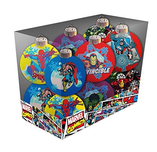 Marvel sdtmar20308–Set Weihnachtskugeln, Farbe mehrfarbig