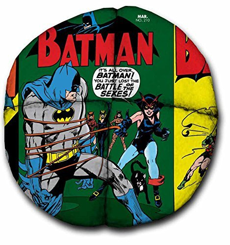 avventura-trading-hacky-sack-batman-vintage-comics-8-pannelli-in-pelle-scamosciata