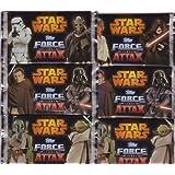 Star Wars Force Attax Movie Serie 3 Card Collection - 6 Booster-Pack mit je 5 Star Wars -Karten pro Packung DEUTSCHE AUSGABE