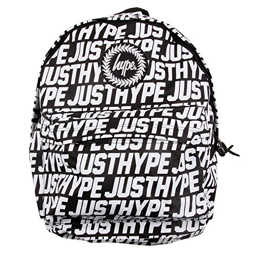 Imagen de hype hombre  deportiva justhype all over logo, negro, one size