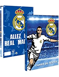 Cahier de texte scolaire REAL MADRID - Collection officielle - Rentrée scolaire - Football