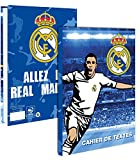 Cahier de texte scolaire REAL MADRID - Collection officielle - Rentrée scolaire - Football