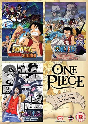 One Piece Movie 7-9 Triple Pack [Edizione: Regno Unito] [Import italien]