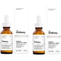 2X The Ordinary' Caffeine Solution 5% + EGCG' 30ml, Reduces Appearance of Eye Contour Pigmentation and of Puffiness