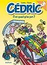 Cedric, tome 27 : C'Est Quand Qu'on Part ? par Laudec