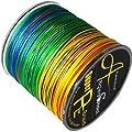 8 Strands Braided Fishing line 300m Multi Color Super Strong Japan Multifilament PE braid line 10LB 20LB 30LB 40LB 108LB 128lb by gaining fishing