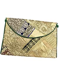 Shubhangi Women's Sling Bag (Jaipuri Embroidered Handicraft Traditional Sling Bags,ZARI GOTA WORK,Multi-Coloured... - B0781XW1L1