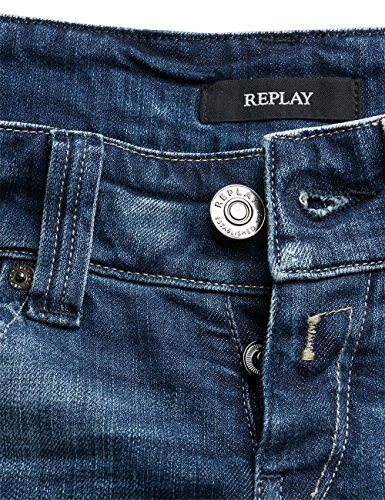 Replay Damen Jeanshose Newswenfani Blau (Blue Denim 10)