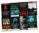 Stephen King 8 Books Collection Pack Set RRP: £78.09 (Cujo, Thinner, Full Dark No Stars , From a Buick 8, The Bachman Books, Blaze, Carrie, Stephen King Goes to the Movies)