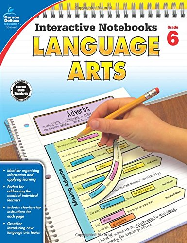 eBooks Online Textbooks: Language Arts, Grade 6 (Interactive Notebooks) MOBI