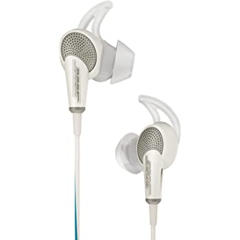 Bose QuietComfort 20 Acoustic Noise Cancelling Headphones (White) for Samsung and Android Devices