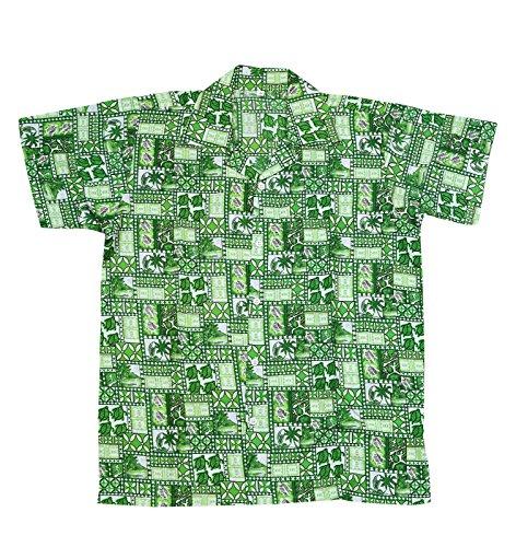 SAITARK Herren Freizeit-Hemd mehrfarbig mehrfarbig GREEN 4TURTLE
